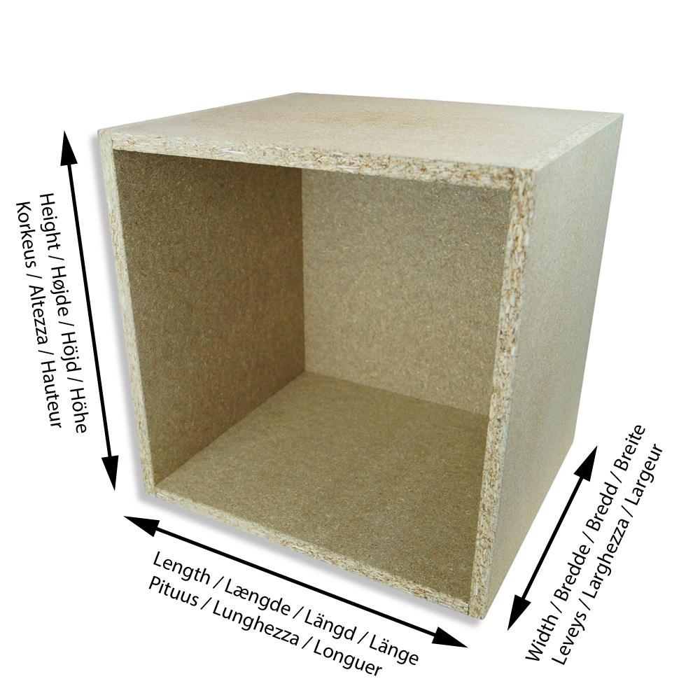 spanplattenkiste kiste aus spanplatten nach ma. Black Bedroom Furniture Sets. Home Design Ideas